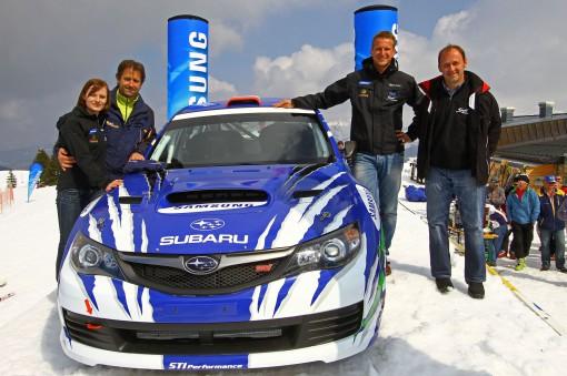 © Riesneralm - Rallyeauto Präsentation 2012