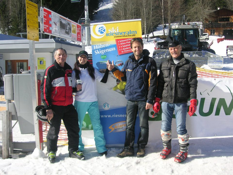 © Riesneralm - Skitag Radio Grün-Weiß 2012