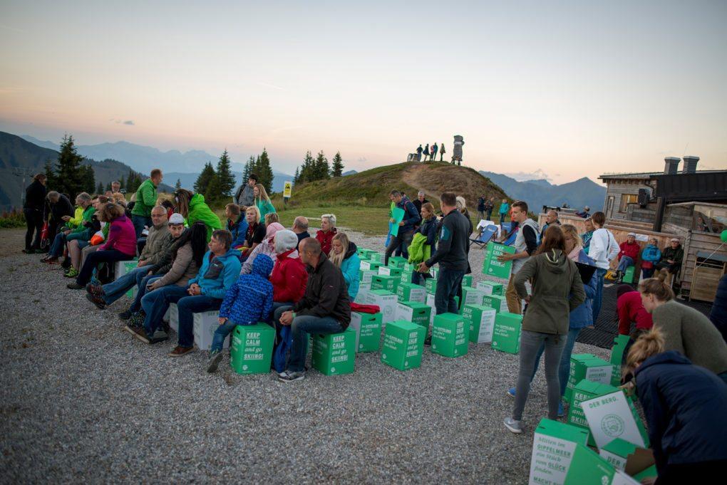 Gipfelerlebnis Riesneralm - Kino am Berg 2017 © Zeiselberger