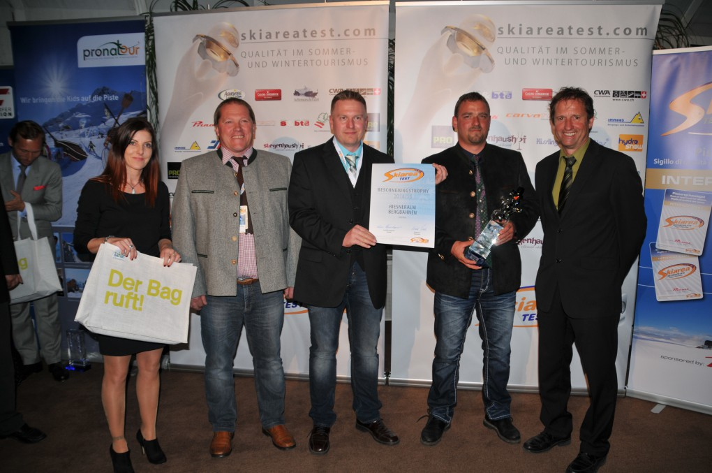 Skigebiet Riesneralm - Internationaler Skiareatest 2015