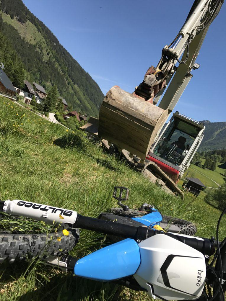 © E-Enduro Bikepark - Baubeginn 2017
