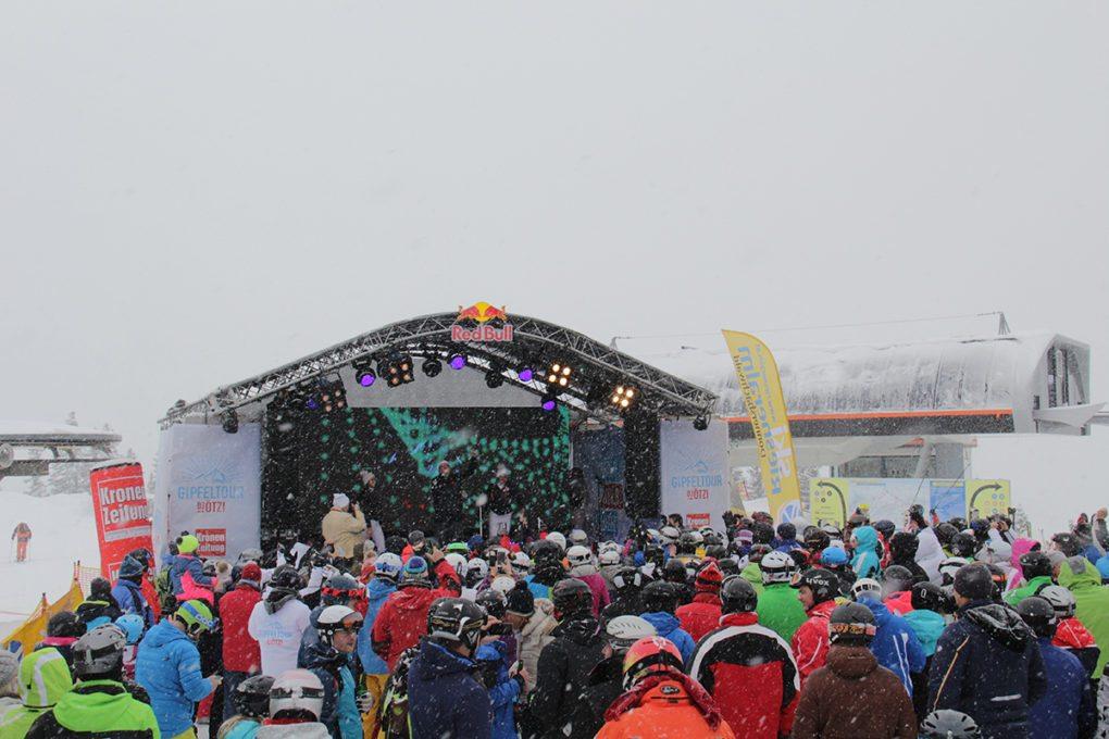 Ski Riesneralm - Gipfeltour DJ Ötzi 2018 © Brunthaler