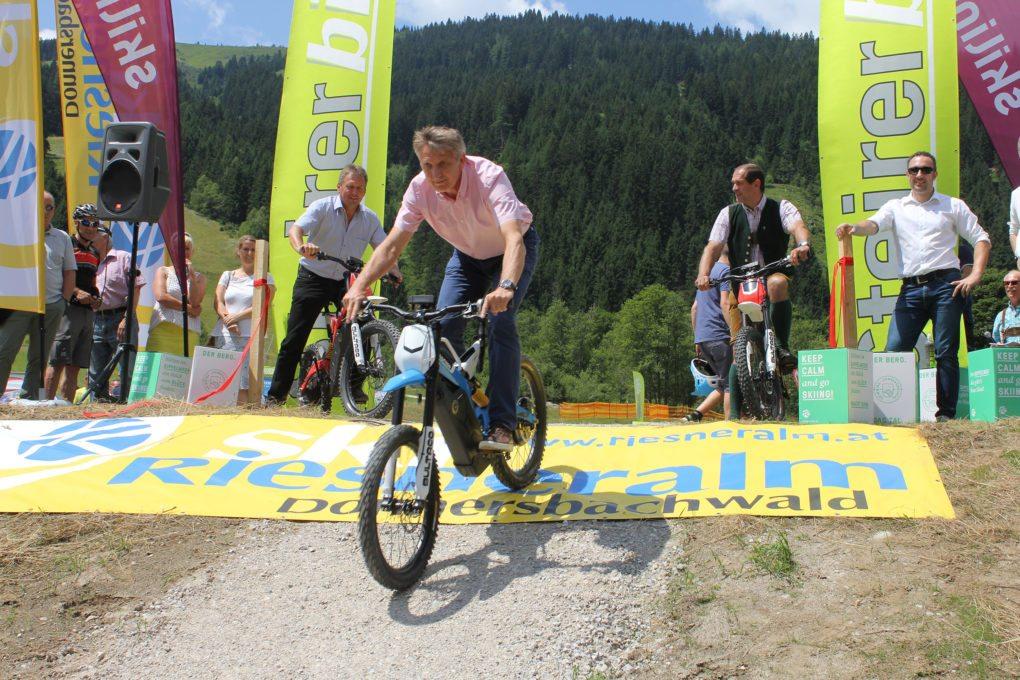 © Gipfelerlebnis Riesneralm - Eröffnung E-Enduro Bikepark Riesneralm