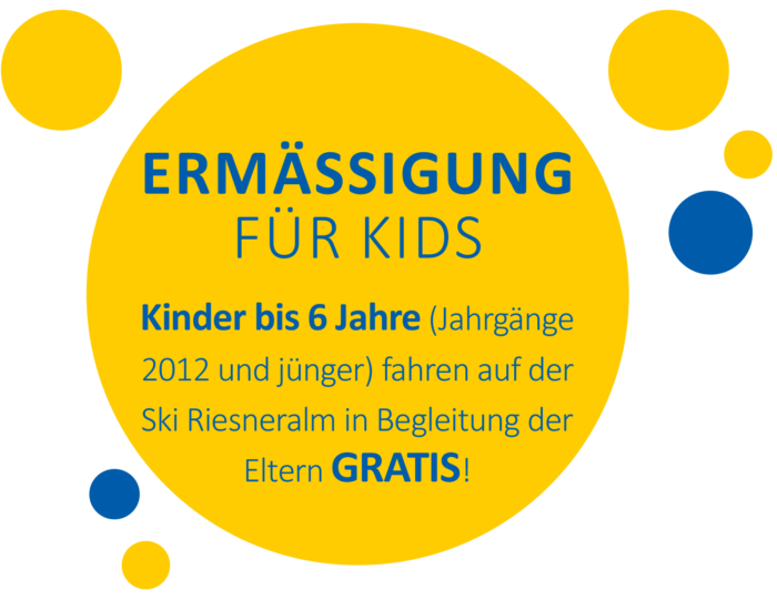 Kinderskiland Ermässigung 2017-18