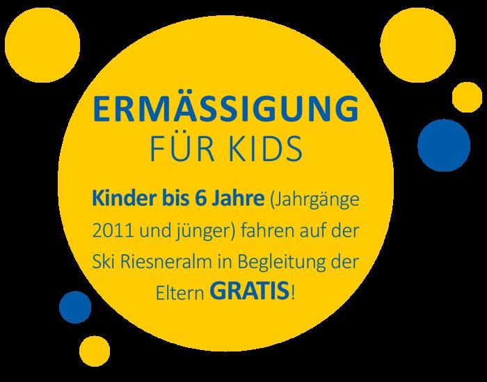 © Ski Riesneralm - Kinderskiland Ermässigung