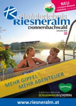 Gipfelerlebnis Riesneralm - Sommerfolder 2018