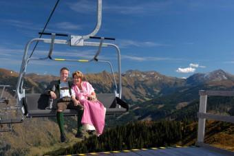 Bergbahnen - Riesneralm - Sommer - Hochzeit