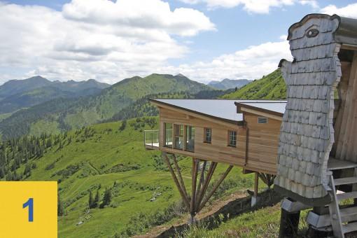 Hütten auf der Riesneralm - Hochsitz