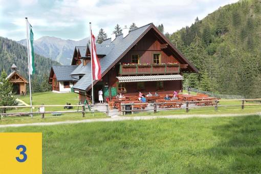 Hütten auf der Riesneralm - Mörsbachwirt