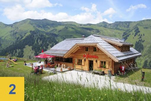 Hütten auf der Riesneralm - Oxenalm