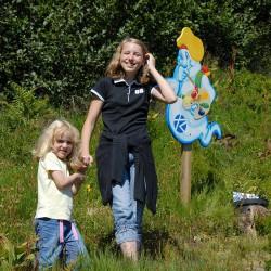 Bergbahnen - Riesneralm - Sommer - Kinderschatzsuche
